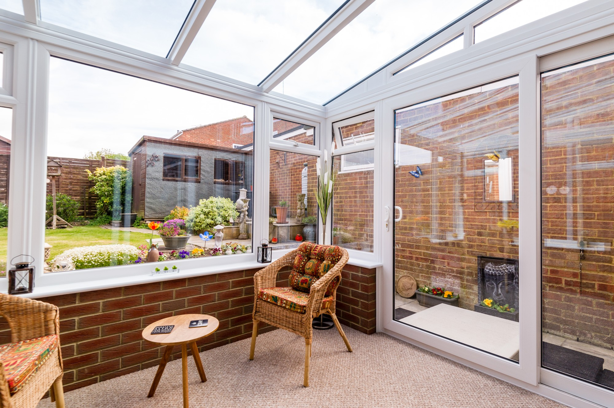 steel base conservatories for sale