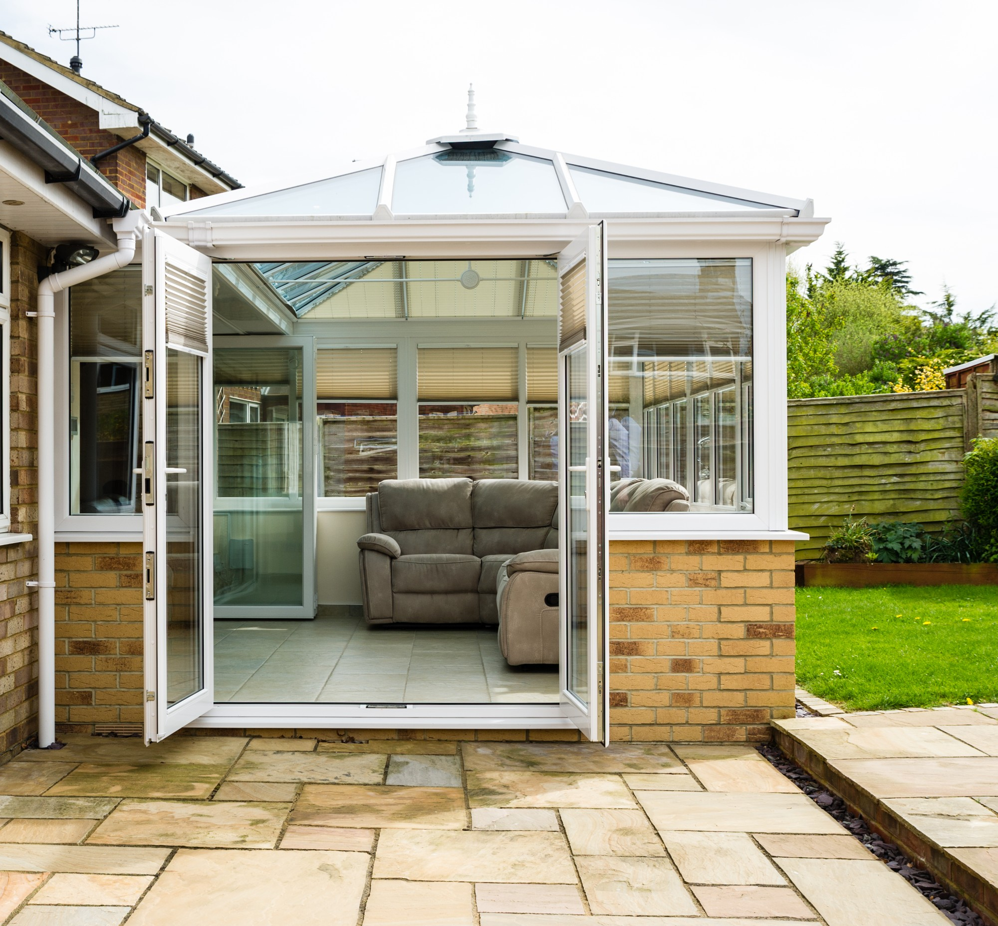 modular conservatory bases newport
