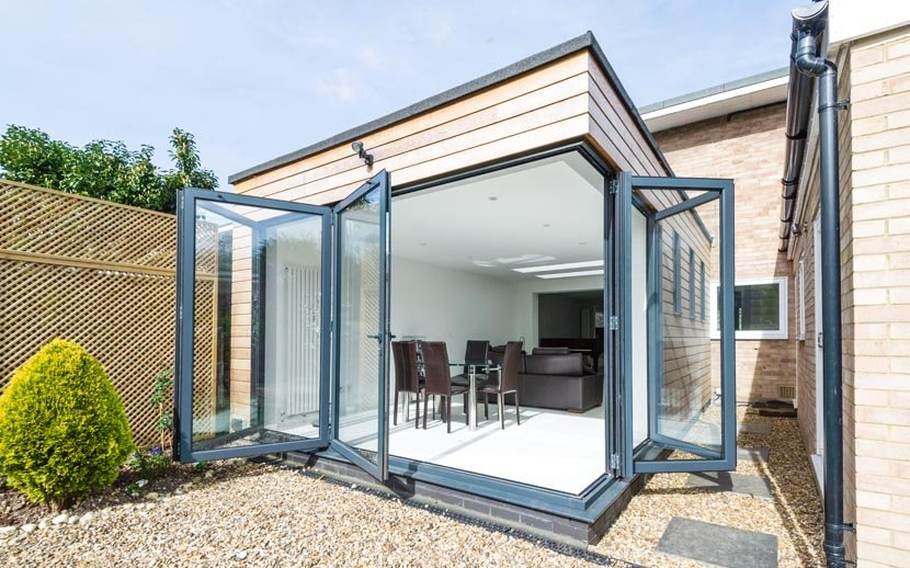Steel Frame Extensions Cardiff